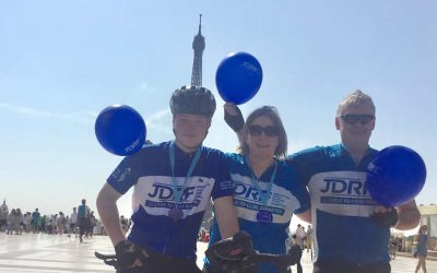 Charity bike ride a success